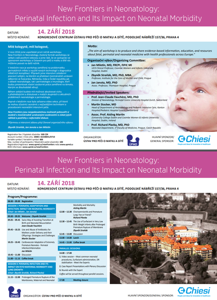 New Frontiers in Neonatology 2018